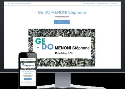 Ge-Do Décolletage – Présence web